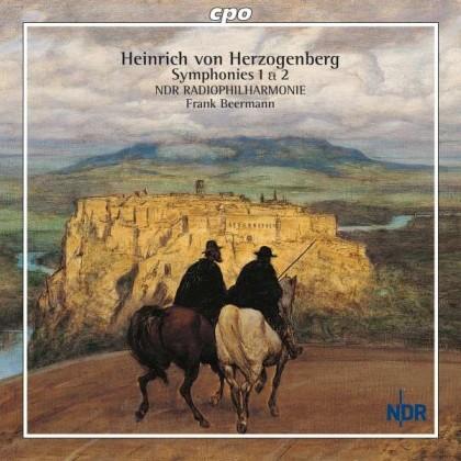 Symphonies Nr1 & 2 Heinrich von Herzogenberg