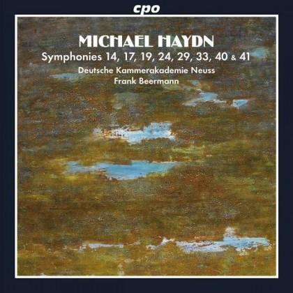 Symphonies Nr14-17-19-24-29-33-40-41 Michael Haydn