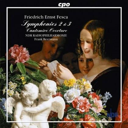Symphonies Nr2 & 3 Friedrich Ernst Fesca