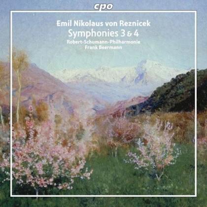 Symphonies Nr3 & 4 Emil Nikolaus von Reznicek