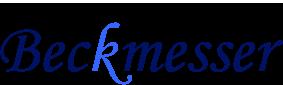 beckmesser logo